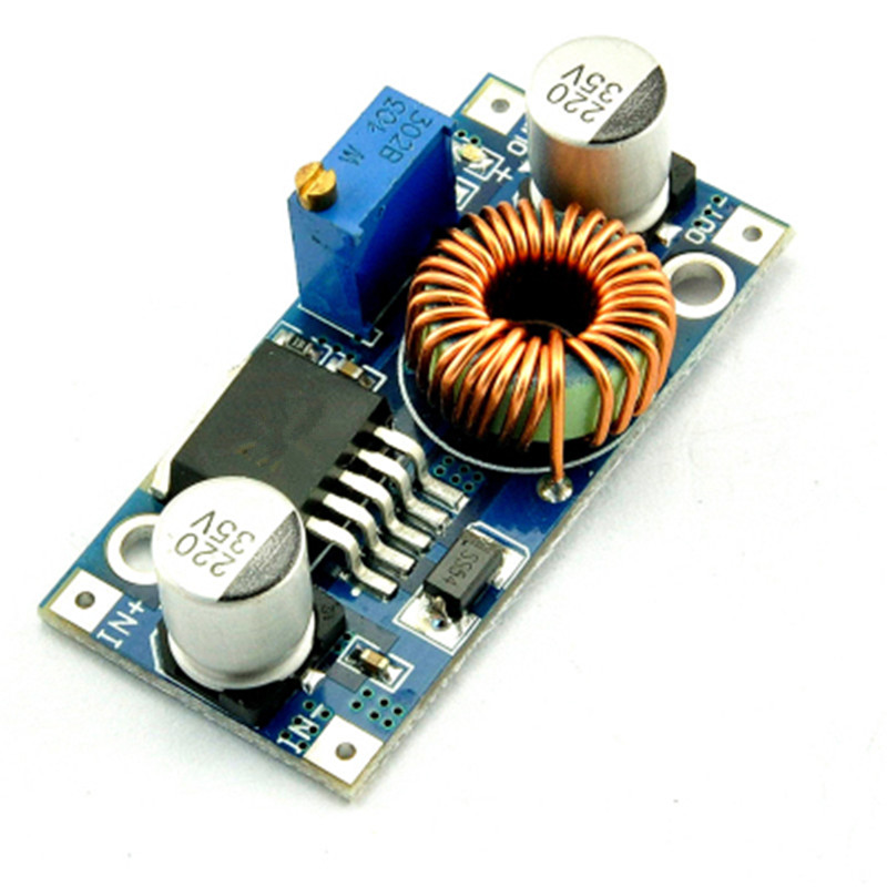 1pcs XL4005 DSN5000 Beyond LM2596 DC-DC adjustable step-down 5A power Supply module,5A Large current Large power itead acs712 current sensor module dc ± 5a ac current detection module works w official arduino