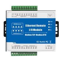 M100T Modbus TCP Ethernet Remote IO Module Precision Data Acquisition Module For Industrial Measurement & Control System