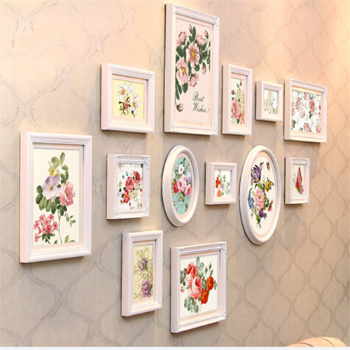 13 Pcsset Picture Photo Frame Set Wall Mural Black And Whitepure
