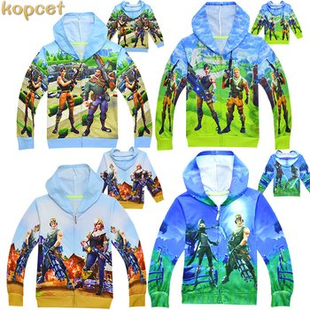 Ninja Hoodies Boys Hoodies Cartoon Children's Sweatshirts For Boys Outwear Coat Kids Clothes Cartoon Boys Girls Tops Costume