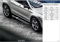 Auto For Porsche Cayenne Mercedes Benz GLA 15 Ford Escape Mazda CX 5 Cadilliac Running Board Nerf Bar Side Pedal Step Boards