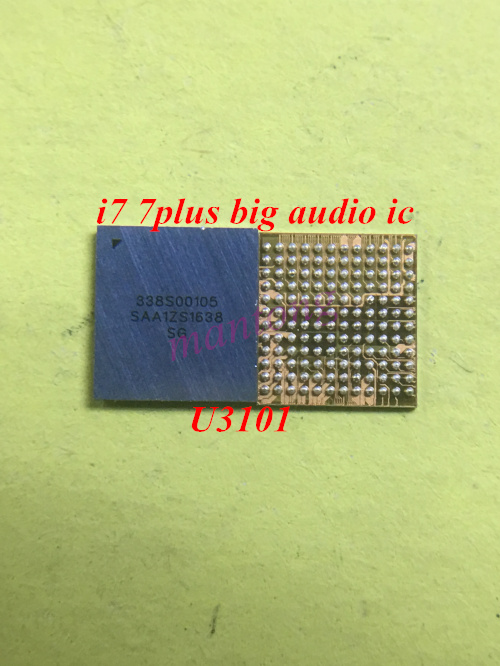 2pcs 50pcs U3101 CS42L71 338S00105 for iphone 7 7plus big main audio codec ic chip-in Integrated Circuits from Electronic Components & Supplies