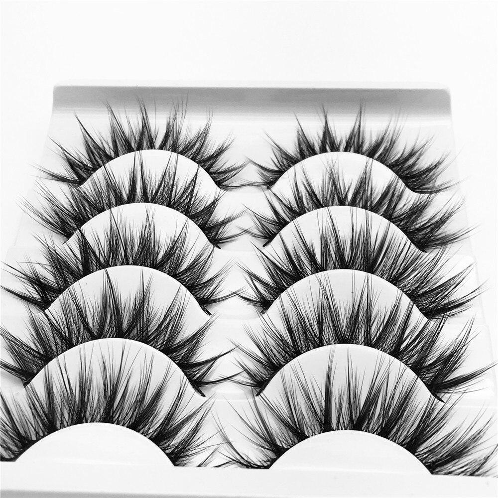 Falsificados eye lashes longos e grossos handmade