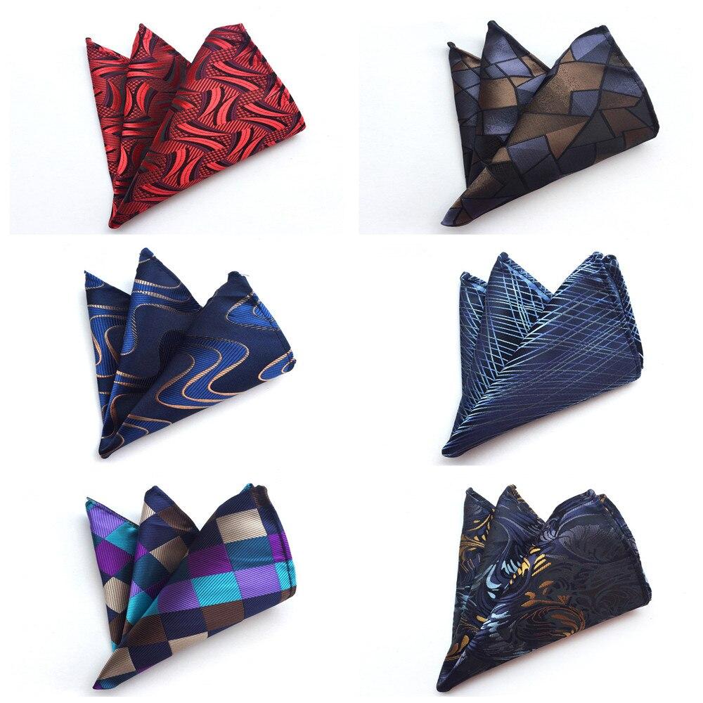 Unique Design Boutique Men's Pocket Towel Fashion Explosion Quality High Quality Polyester Silk Pocket Kerchief Handkerchief