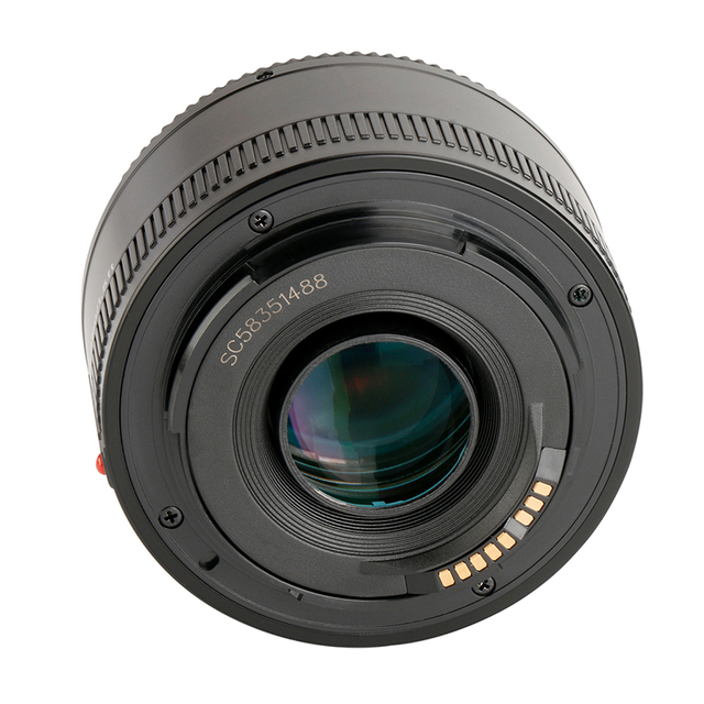 YONGNUO YN50mm F1.8 Lens EF 50mm for Canon Large Aperture Auto Focus Lenses For DSLR Camera 700D 750D 800D 5D Mark II IV 10D 1