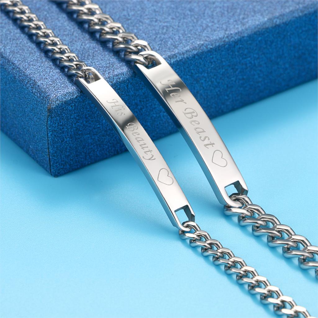 ce5eb9d597 Aliexpress.com : Buy BONISKISS New Fashion Lovers' Bracelets