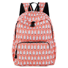 Junior high school student schoolbag nylon cloth waterproof Oxford bag women's shoulder bag Korean style casual travel bag light цена в Москве и Питере