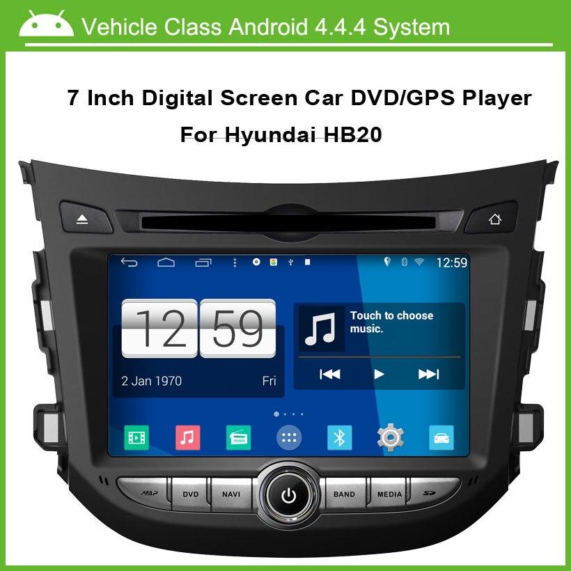 Lecteur vidéo DVD de voiture pour Hyundai HB20