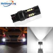 цена на 1200Lm T20 7443 LED Bulbs 7440 W21/5W LED Car Lights Turn Signal Brake light Parking light Auto Fog Lamps Red Amber 12V-24V