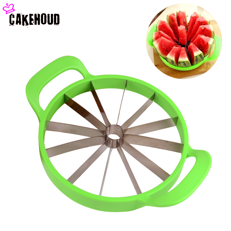 CAKEHOUD Watermelon Cutter Convenient Kitchen Cooking Cutting Tools Watermelon Slicer Cantaloupe Knife Fruit Cutter Originality