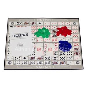 Image 3 - ألعاب التسلسل للأطفال لعبة لوحة التسلسل الصعبة 104 بطاقة 2 12 لاعبا لعبة عائلية النسخة الإنجليزية