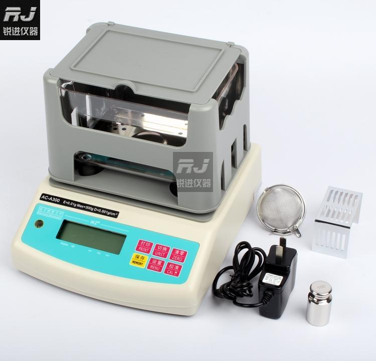 [AC-A300] density meter  solid gravity  rubber plastic metal  wire and cable