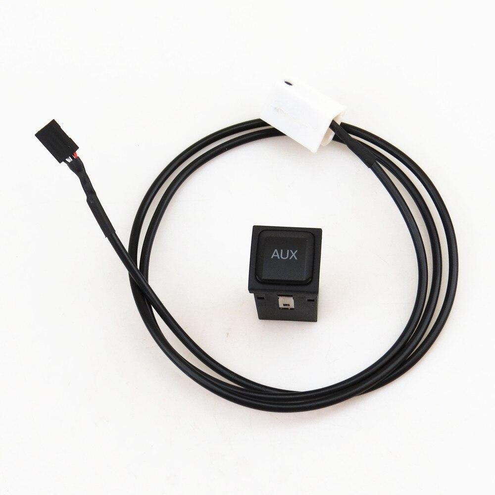 READXT AUX Commutateur Connexion Câble Prise Audio De Voiture Pour VW Jetta 5 Golf MK5 MK6 Scirocco RCD510 RNS315 5KD 035 724 Un 5KD035724A
