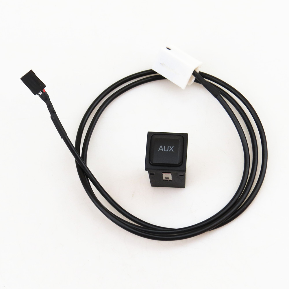 READXT AUX Switch Connection Cable Car Audio Plug For Golf 5 MK5 6 MK6 Rabbit Scirocco RCD510 RNS315 5KD 035 724 A 5KD035724A