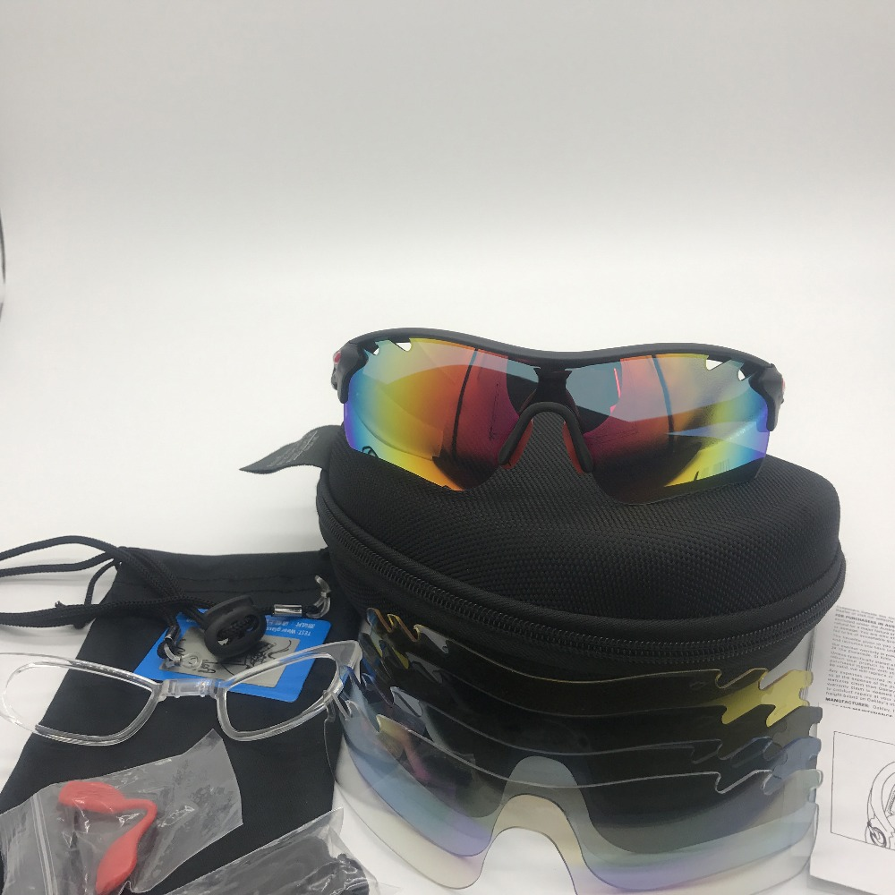 7f5c086cb7 5 lentes gafas de Ciclismo de polarizadas UV400 deportes al aire libre gafas  de sol bicicleta