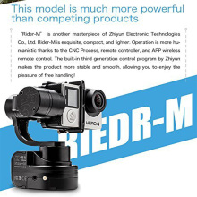 EU Stock Zhiyun Rider-M 3 axis Handheld Gimbal wearable stabilizer for GoPro 3 4 5 Action Camera