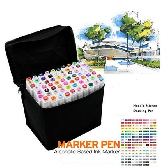 Touchnew Art Markers Set Alcohol Oily Base Sketch Markers Pen For Drawing Animation Manga Supplies touchnew 60 colors artist dual head sketch markers for manga marker school drawing marker pen design supplies 5type