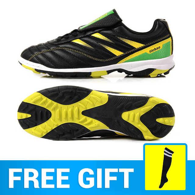 ab08474d836 TIEBAO Football Shoes Football Boots Soccer Boots Soccer Shoes Men TF Turf Shoes  Football Zapatos Futbol