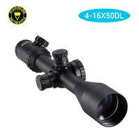 Visionking 4 16x50DL Mil dot Hunting Riflescope illuminated Green Optical Sight
