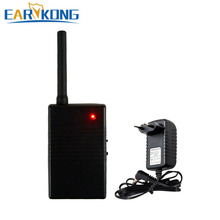 Repetidor de sinal sem fio, amplificador de sinal de 433mhz para sistema de alarme de 433mhz e sensor detector sem fio
