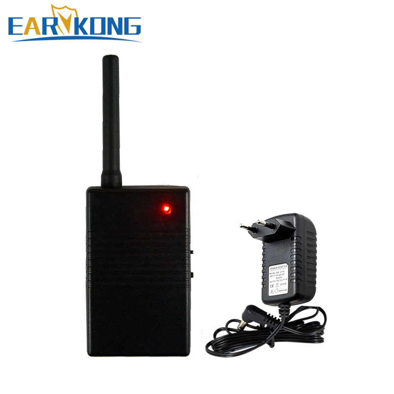 Wireless Signal Repeater 433MHz Signal Amplifier for 433MHz alarm system and wireless detector sensor alarm-in Alarm System Kits from Security & Protection