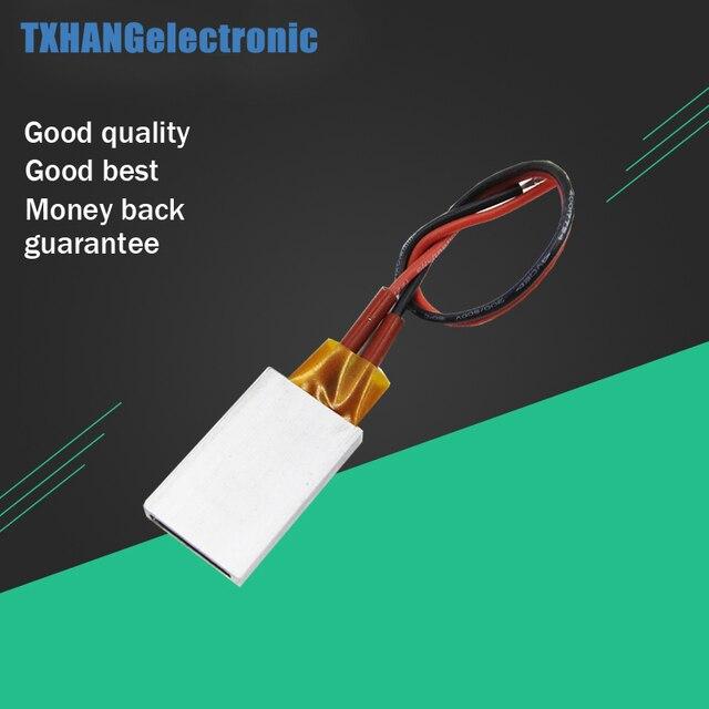 Élément chauffant thermostatique en céramique PTC à température constante AC DC 12 V 50 W
