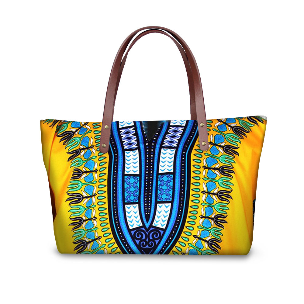 Noisydesigns Women <font><b>Handbags</b></font> <font><b>Tribal</b></font> Ethnic African Beach Bags Women 2018 Tote Bag Large Crossbody Bags for Female Messenger Bags