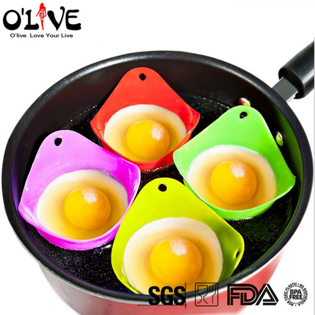 Aliexpress.com : Buy Silicone Form For Eggs Cooking Tools Poachers ...