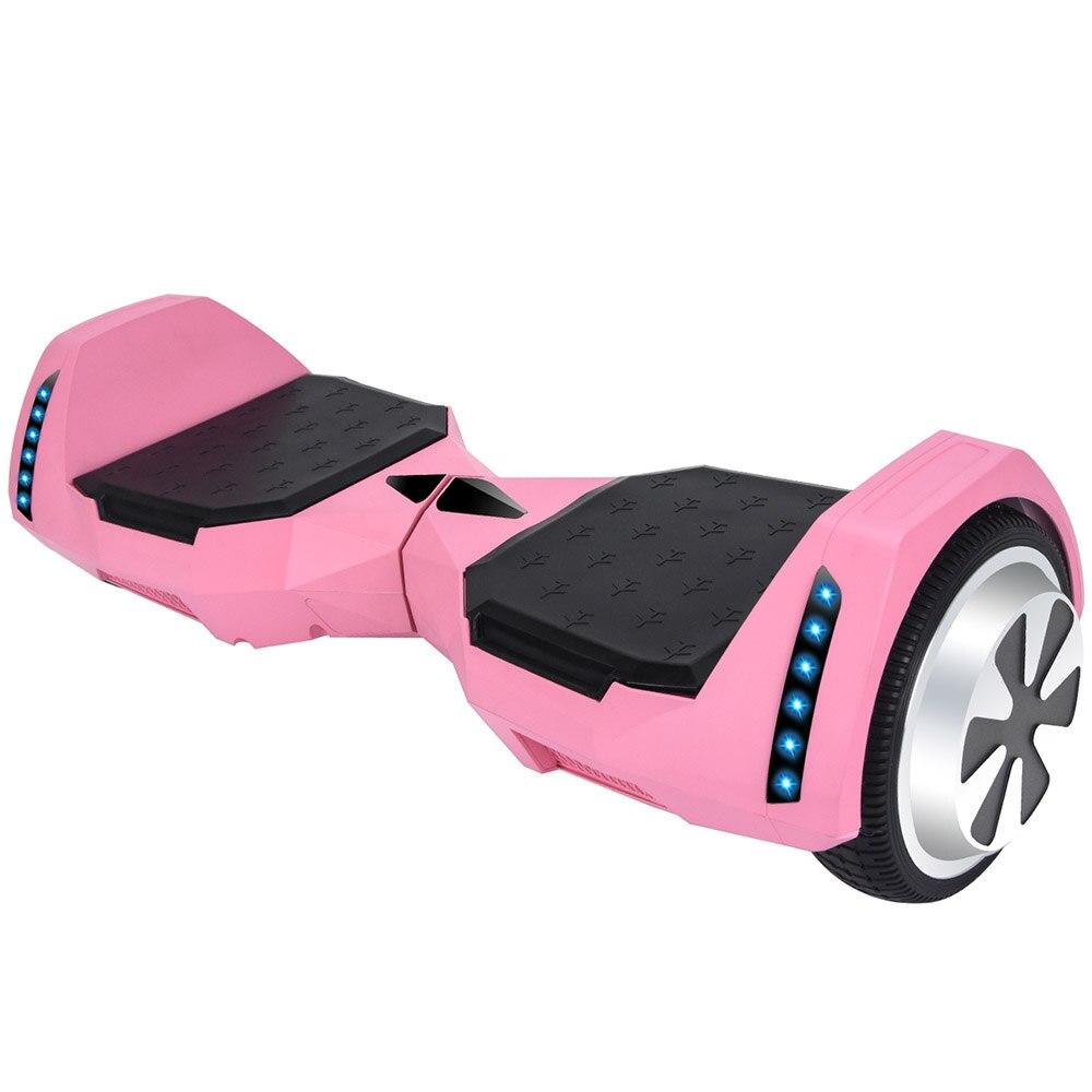 Электрический скейтборд 10 дюймов скутер двухколесный Smart балансировочный гироскутер с светодиодный Bluetooth Динамик удаленный контроль и сум... - 5
