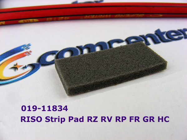 New original Stripper Pad  fit for RISO RISOGRAPH RZ RV EZ RP FR GR HC550 019-11834 / Lower shipping for large order! original sensor ps 117nd1 fit for riso rz rv ev 444 33005