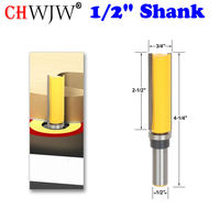 Template Router Flush Trim Bit With 1 2 Shank Chwjw 14130