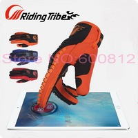 Riding Tribe Motocross Motorcycle Racing Gloves Summer Motorbike Riding Gloves Can Touch Phone Screen Drop Resistance