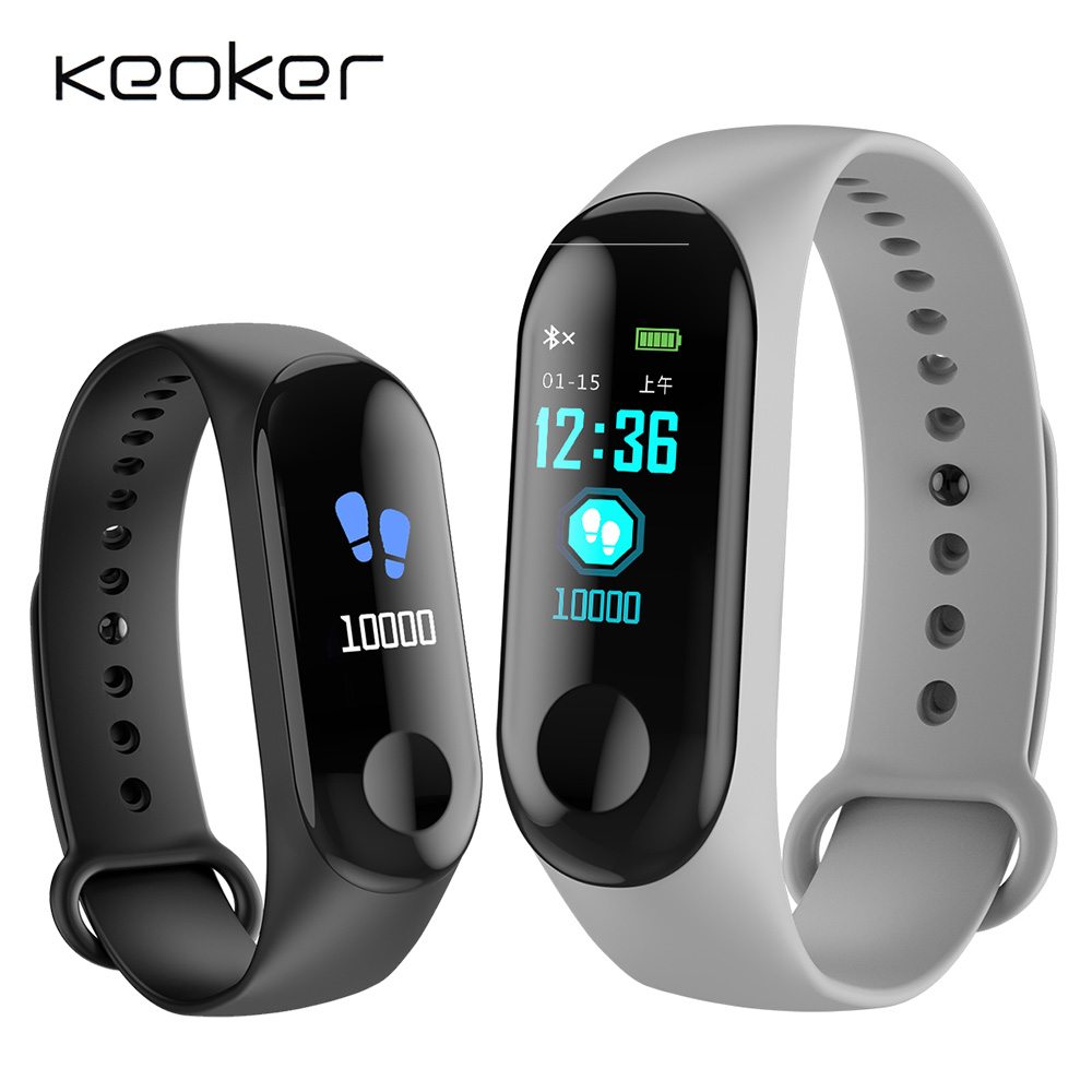 W 3 Smart Watch Waterproof Fitness Bracelet Blood Pressure Heart Rate Monitor band Bluetooth Push for Xiao mi IOS Android Phone