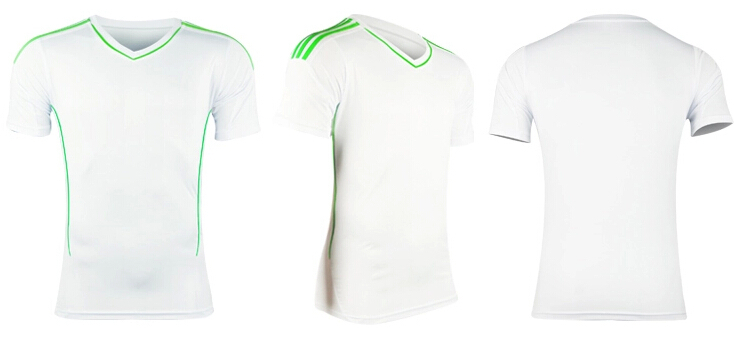 De calidad superior 2015 nuevo jersey de fútbol de manga corta ...