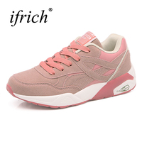 2017 New Trend Ladies Walking Shoes Brand Pink White Girls Running Shoes Summer Autumn Athletic Sneakers