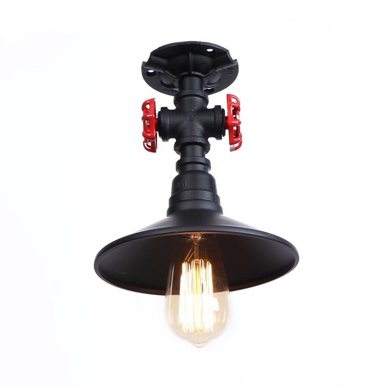 industrial style vintage retro E27 bulb  metal pipe dinning,foyer, bedroom,indoor ceiling light 100-240V