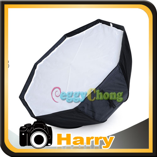 Hot Sale 100% NEW 80cm/32in Octagon Softbox Selens umbrella Reflector soapbox Fo SpeedLight/Flash camera ...