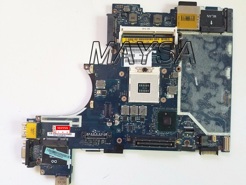 8885V 08885V CN-08885V Laptop Motherboard Fit For DELL Latitude E6410 Motherboard LA-5471P DDR3 100% Working