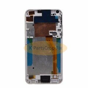 Image 2 - 100% testowane do HTC Desire 816 LCD ekran dotykowy z ramką dla HTC Desire 816 wyświetlacz montaż Digitizer 816D 816 T D816W D816