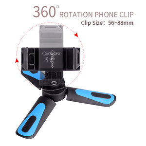Image 3 - XILETU CD 1 2 1 360 rotasyon dikey çekim Mini Tripod telefon montaj tutucu iPhone Max Xs samsung S8 S9 piksel 2 3
