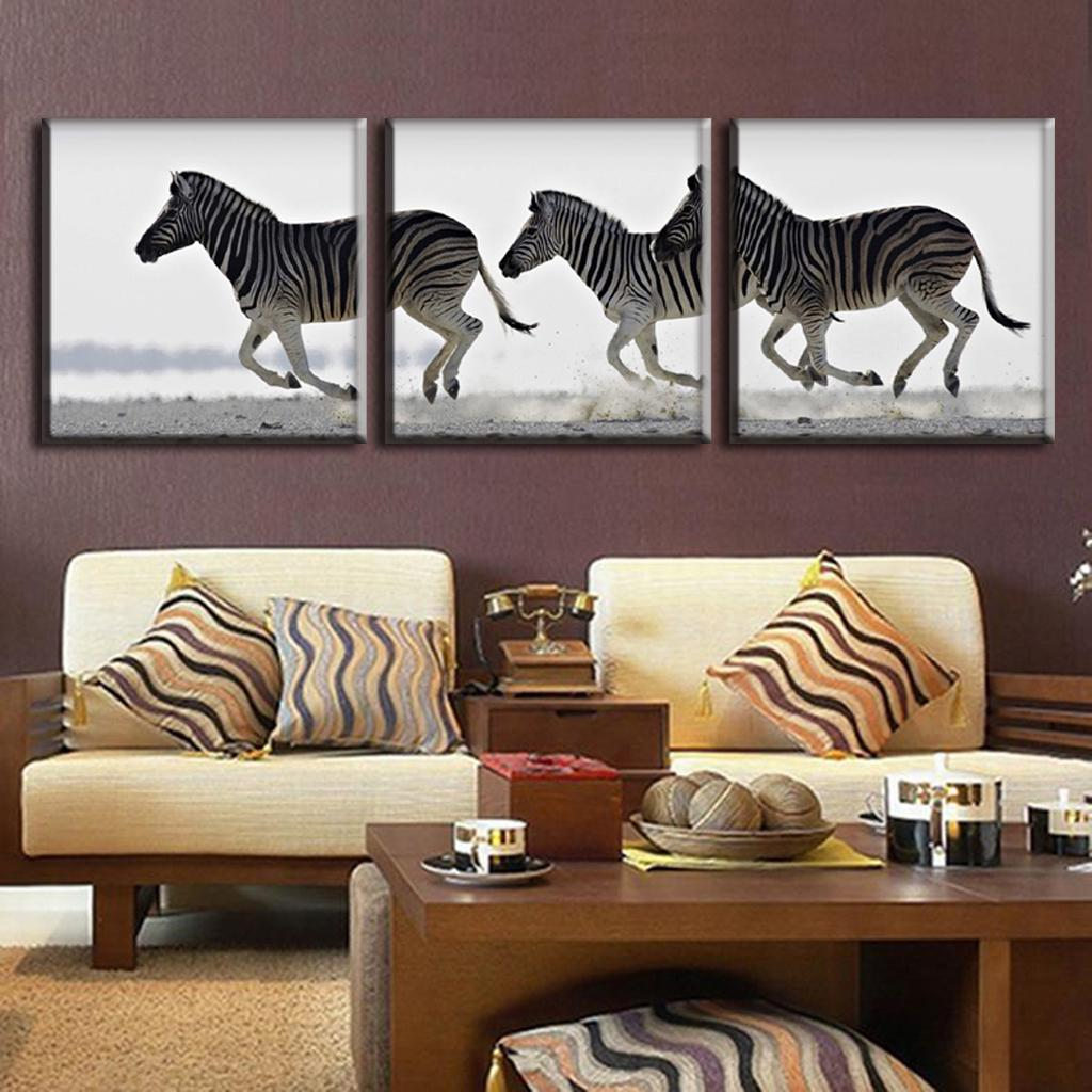 Animal Print Wall Art compare prices on zebra print canvas wall art- online shopping/buy