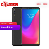 Global Rom Lenovo K5 Pro 6GB 128GB Snapdragon636 Octa Core Smartphone Quad Cameras 5.99 inch Screen 4G LTE Phones 4050mAh Lenovo Phones