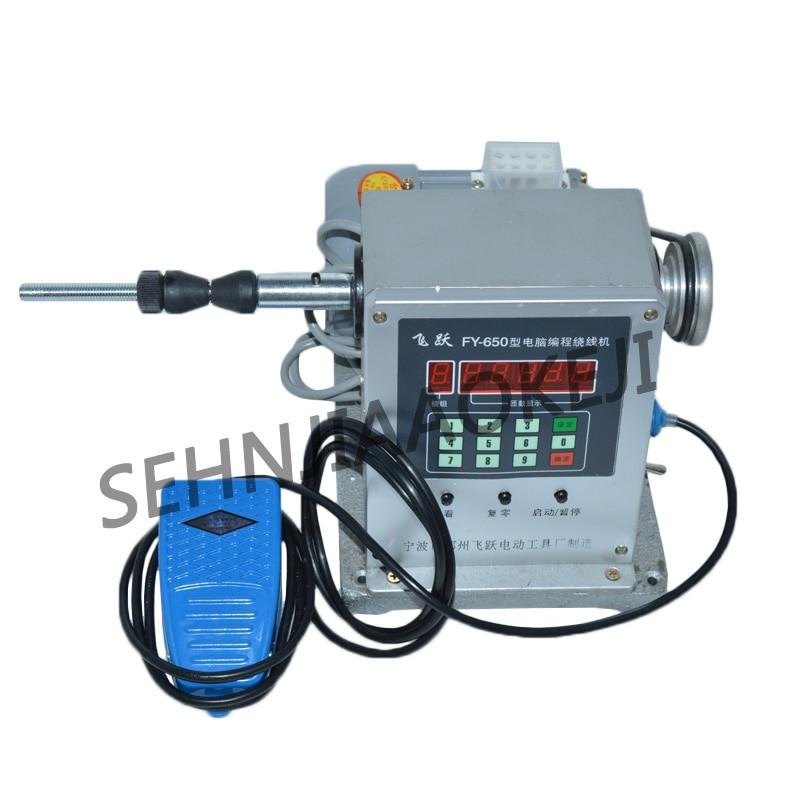 1pc FY 650 CNC Electronic winding machine Electronic winder Electronic Coiling Machine Winding diameter 0.03 0.35mm