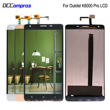 Original For Oukitel K6000 Pro LCD Display Touch Screen Digitizer Assembly Phone Parts k6000 Pro Screen LCD Display Replacement 5 5 inch 1280 720 lcd screen for original oukitel u7 pro lcd display with touch screen assembly repair parts phone in stock