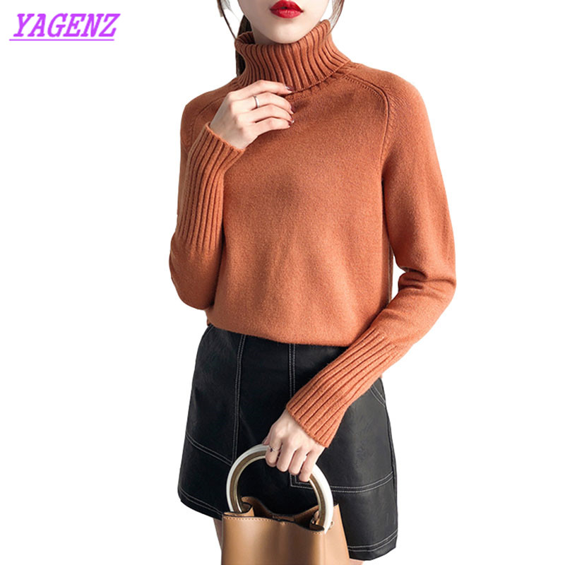 Spring Autumn Boss Sweater Women Hedging Loose Long sleeves Warm Knitted Sweaters Elegant Ladies Winter Wild Bottom Sweater 612
