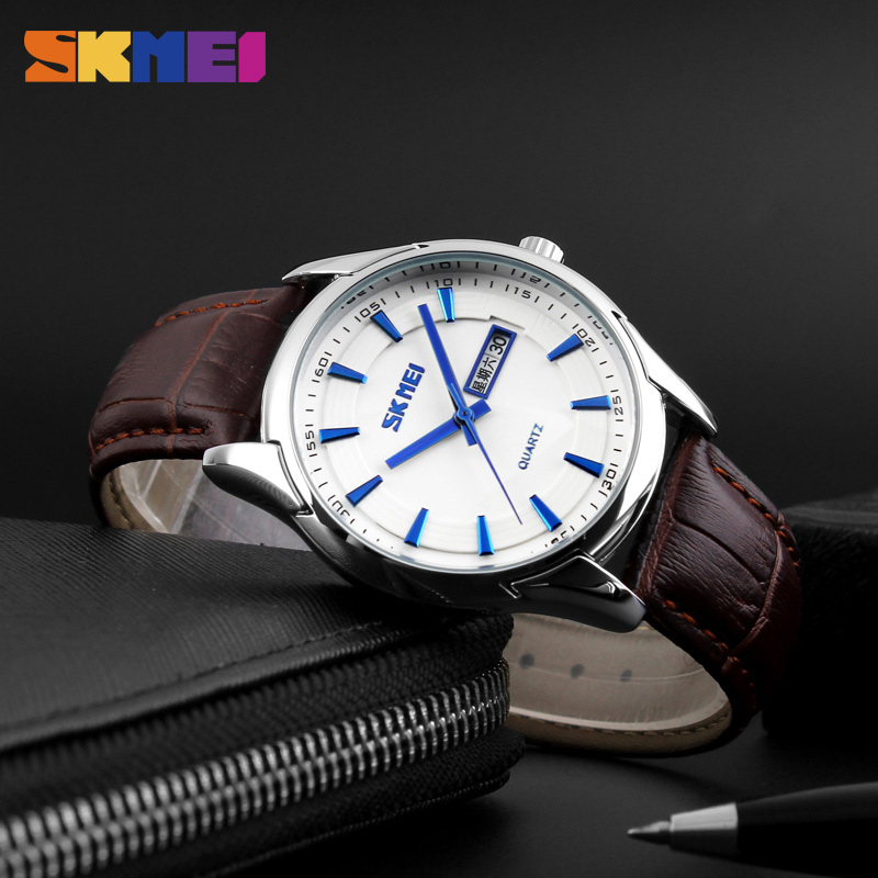 SKMEI Watches Man luxury Brand Skmei Quartz Watch Men Full Steel Fashion Sport Watch Relogio Masculino Mens Wristwatches skmei 9069 men quartz watch men full steel wristwatches dive 30m fashion sport watch relogio masculino 2016 luxury brand watches
