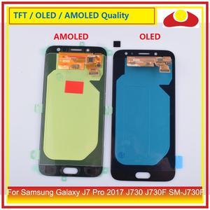 """Image 3 - ORIGINALE 5.5 """"Per Samsung Galaxy J7 Pro 2017 J730 J730F SM J730F Display LCD Con Pannello Touch Screen Digitizer Pantalla completo"""