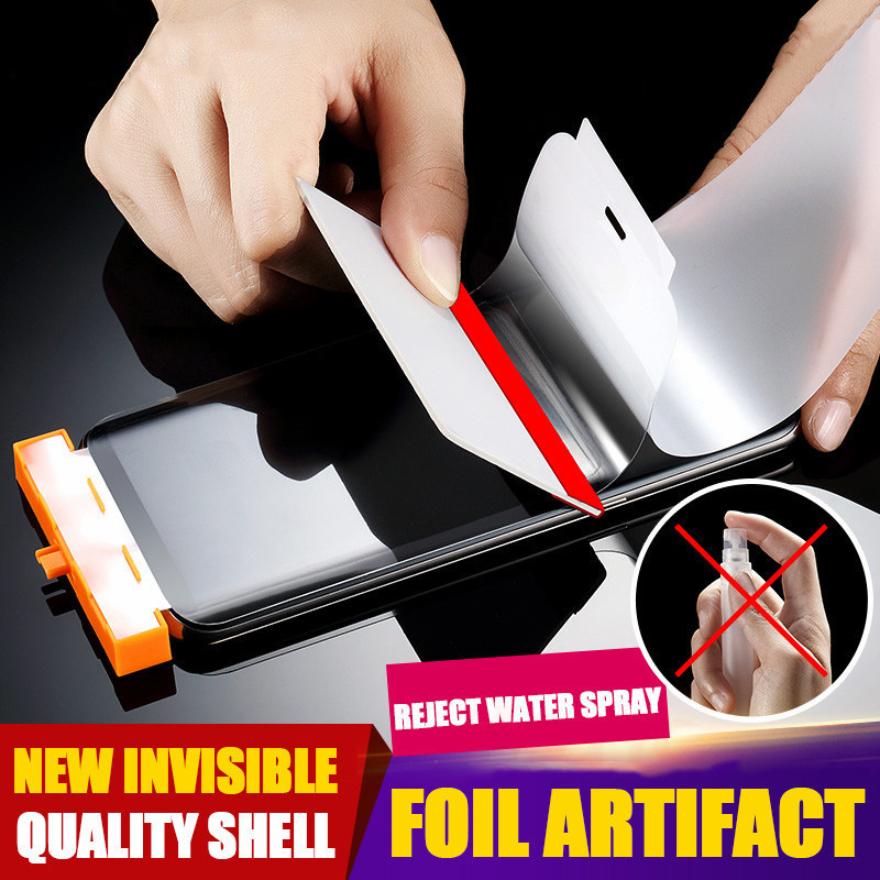 New 10D Screen Protector For iphone XS Max XR X 8 Soft Full Cover Hydrogel Protective Film 7 6 6s Plus
