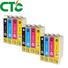 12 Pack T2991 29xl Ink Cartridges Compatible for INK XP-235 XP-332 XP-335 X-P432 XP-435 XP-247 XP-442 XP-342 XP-345 europe 29xl t2991 2991 bulk ciss ink system for epson xp 235 xp 245 xp 332 xp 335 xp 342 xp 432 xp 345 xp 435 xp 445 xp 442 cis