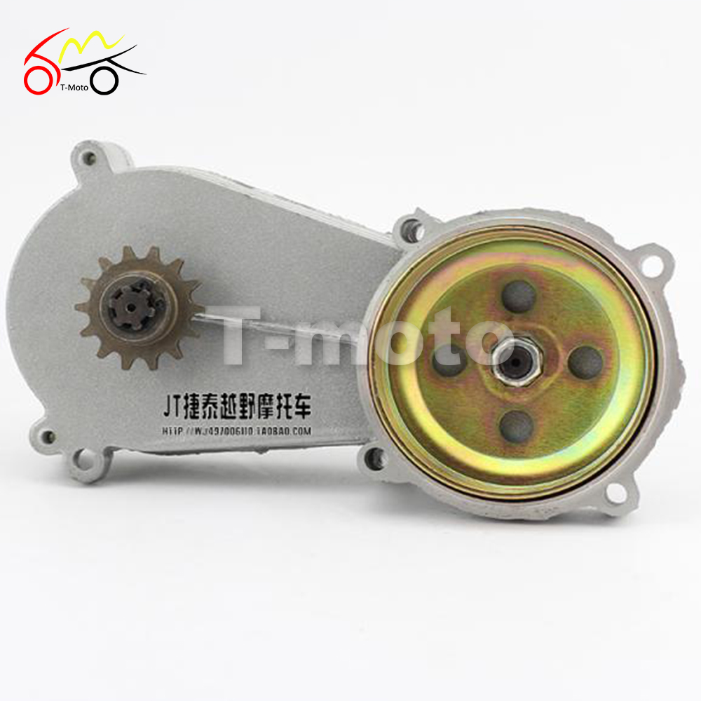 T8f 49cc Small Off Road Vehicles Motorcycle Transmission Gear Box Of Gearbox Chain Plate Sprocke 47cc Pocket Biket In Engine Cooling Accessories From Automobiles